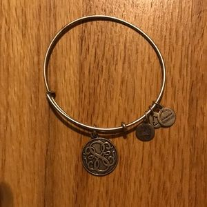 Alex and ani path of life bracelet silver